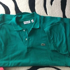 Lacoste polo shirt sleeves